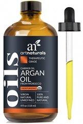 ArtNaturals Kaltgepresstes Reines Arganöl aus Marokko - Unberührt - 100% Argania Spinosa - Für Strapaziertes und Trockenes Haar sowie zur Hautpflege - 120 ml - 1