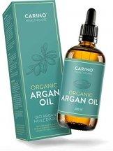 Carino HealthCare BIO Arganöl 100ml aus Marokko 100% rein kaltgepresst Anti-Falten Anti-Aging-Pflege für Haut Haare und Nägel Serum Haut Haare - 1