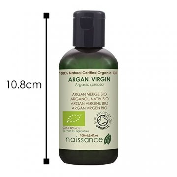 Naissance Arganöl, nativ 100ml BIO zertifiziert 100% rein - 3