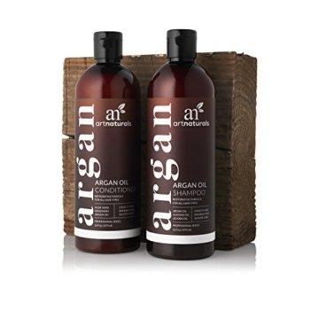 ArtNaturals Reines Organisches Arganöl Shampoo - (12 Oz / 354 ml) - Zur Tägliche Haarpflege - Für jeden Haartyp geeignet - Sulfat- und Silikon-Frei - 2
