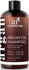 ArtNaturals Reines Organisches Arganöl Shampoo - (12 Oz / 354 ml) - Zur Tägliche Haarpflege - Für jeden Haartyp geeignet - Sulfat- und Silikon-Frei - 1