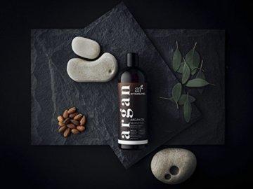 ArtNaturals Reines Organisches Arganöl Shampoo - (12 Oz / 354 ml) - Zur Tägliche Haarpflege - Für jeden Haartyp geeignet - Sulfat- und Silikon-Frei - 6