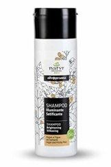BIO Pflege-Shampoo mit Arganöl und Feigenkaktus ohne Silikone ✔ für Gefärbte, Behandelte, Strapazierte Haare ✔ Natyr - Fair Trade Naturkosmetik aus Italien ✔ 200ml - 1