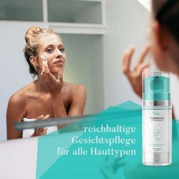 colibri cosmetics Tagescreme mit Hyaluron und Arganöl, feuchtigkeitsspendende Tagespflege (1 x 100 ml) - 3