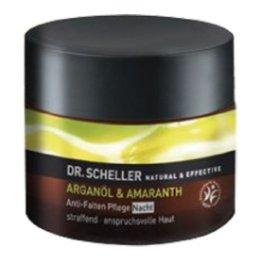 Dr. Scheller Arganöl und Amaranth Anti-Falten Pflege Nacht, 1er Pack (1 x 50 ml) - 1