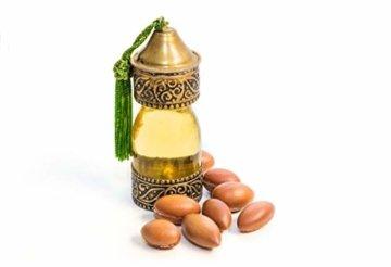 Kräuterland Arganöl, Bio Hautöl, 100ml, kaltgepresst, 100% naturrein, für Gesichts-, Bart-, Haar- und Körperpflege, Massageöl, für trockene Haut (Arganöl 100ml) - 4