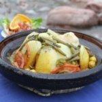 Kartoffel Tajine Arganöl marokkanisch