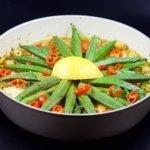 Arganöl rezept Okraschoten marrokaisch
